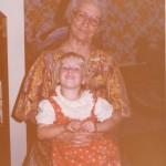 Michelle with Grandma Cox